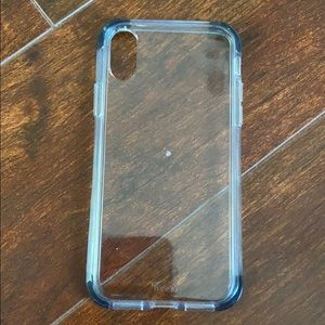 Clear iPhone XS OR X case